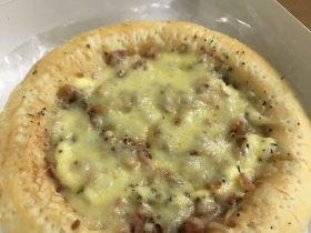 培根虾米披萨