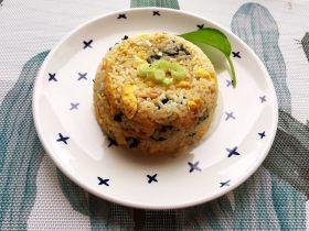 紫菜蝦米蛋炒飯