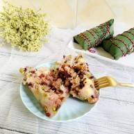 杂豆蜜枣粽