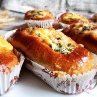 黑麦培根奶酪面包
