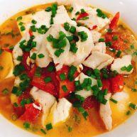 番茄乌鱼(一条鱼两个味道)