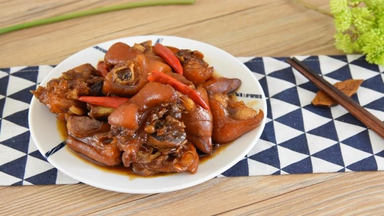 家常红烧猪蹄—在家也能做出大厨级的猪蹄