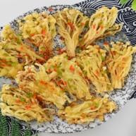 炸金针菇—花开富贵的造型又超级香脆,不要错过哦