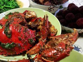 新加坡黑胡椒蟹
