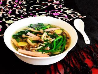 杂蔬火腿羊汤