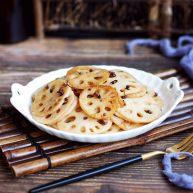 花椒油炝糖醋藕片