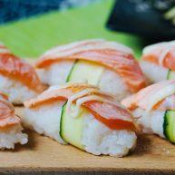 火炙焦糖三文魚壽司
