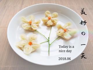 梅花饺,成品图