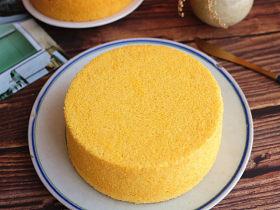 木糖醇南瓜戚风蛋糕