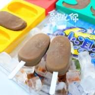 巧克力酱软质冰棒