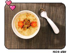 文蛤小米蔬菜粥