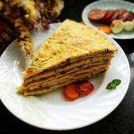 青瓜早餐饼