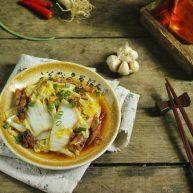 虾油炒白菜(附虾油的做法)