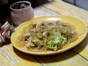 大头菜炒粉条