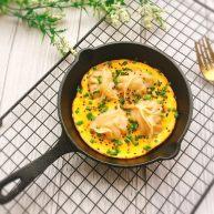 早餐+蛋抱煎饺