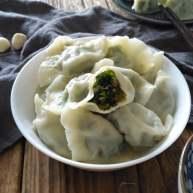 绿苋菜馅饺子