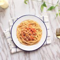 简单美味的番茄肉酱意粉