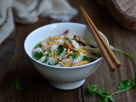 鱿鱼香菇烩饭