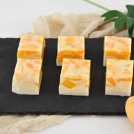 芒果椰奶冻—夏日清凉小甜点,Q弹好吃不上火