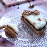 夏日小甜品,豆沙蔓越莓糯米糕,酸甜软糯