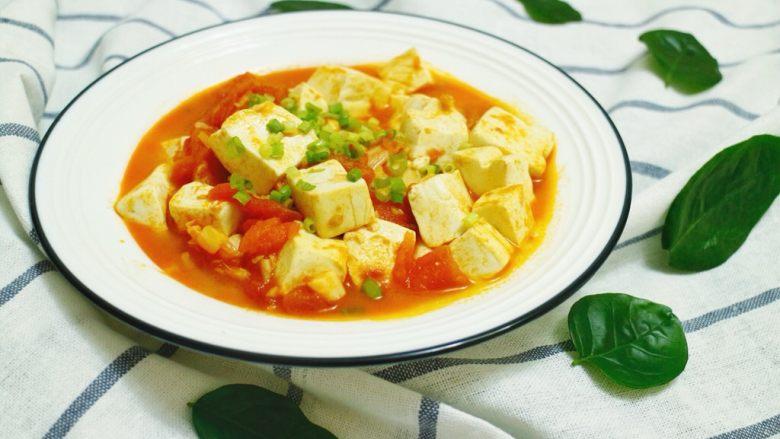 茄汁嫩豆腐