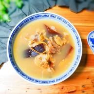 淡菜蛹虫草海带骨头汤