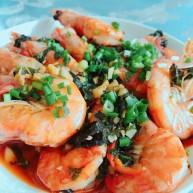 紫苏大明虾