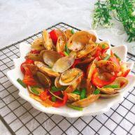 快手正餐 爆炒花蛤