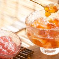 【桃胶冰甜】一整个夏天滴答的雨都锁进这碗桃胶里(快手菜)