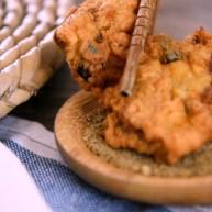 香脆的桂花肉上海本土菜:桂花肉