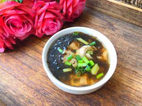 快手正餐 紫菜肉片汤