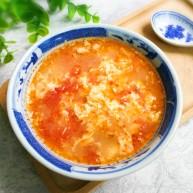快手正餐   榨菜番茄蛋汤