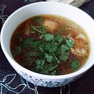 茶树菇养生鸡汤