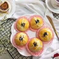 酥掉渣的蛋黄酥,月饼季做起来