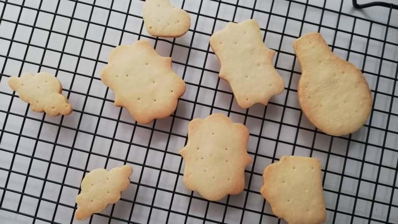 糖霜饼干之平整饼干底