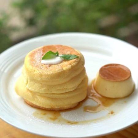 舒芙蕾小松饼