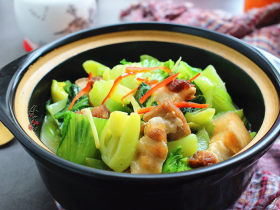 腩肉芥菜煲