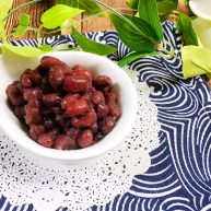 糖渍蜜红豆