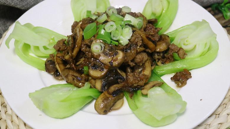 口蘑小油菜