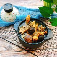 立秋煲汤+双菇目鱼老鸭汤