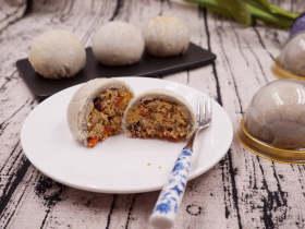 【纯素月饼系】椰香奇亚籽藜莲蔓妙酥