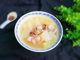 淡菜扇骨冬瓜汤