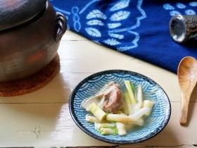 超級鮮的豬大骨扁尖湯