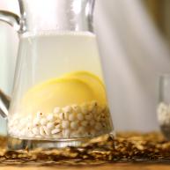 薏米柠檬汁,无花无酒似神仙
