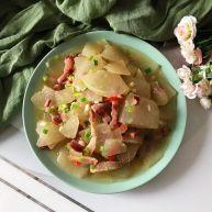 小米椒风肉炒冬瓜