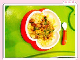 香甜玉米鸡肉饭