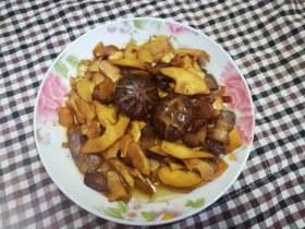 竹笋焖腊肉