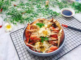 盐水焖梭子蟹