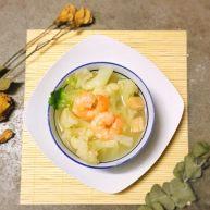 菜花虾仁煲 清甜营养好味道