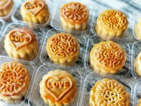 广式月饼之莲蓉蛋黄